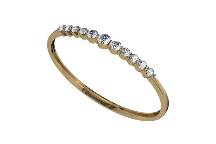 Buy Aneesha Diamond Bangle line in India at Best Price Jewelslane