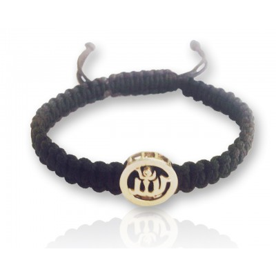 Allah Gents Gold Bracelet