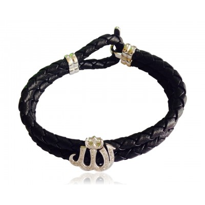 Striking Allah bracelet for Men