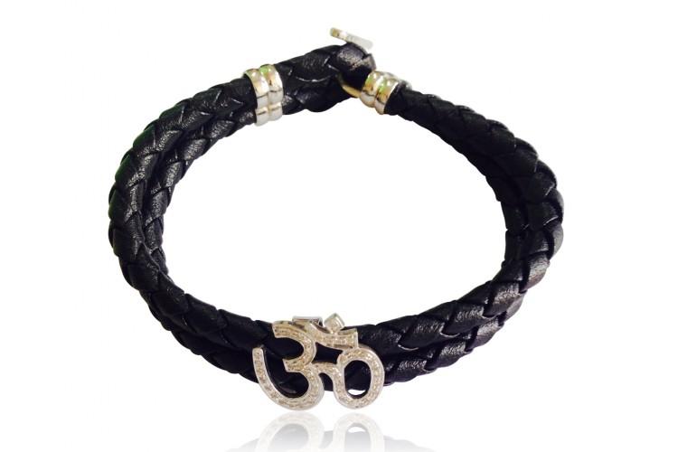 Handsome Om Bracelet For Men