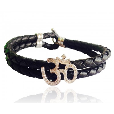 Handsome Om Bracelet for Men
