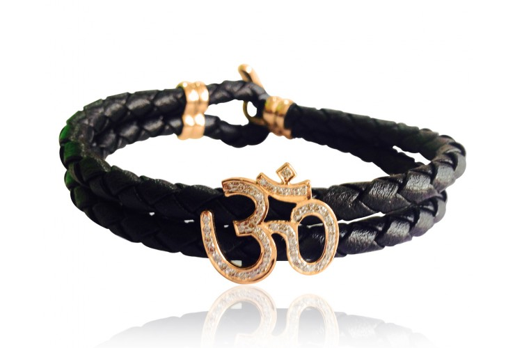 Stunning Om Bracelet for Men