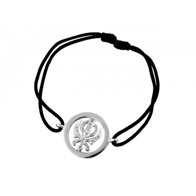 Khanda Inside Diamond Bracelet