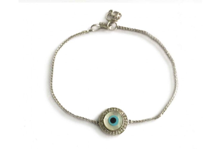 Distinctive New Evil Eye bracelet in gold