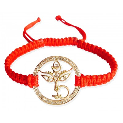 buy maa durga gold bracelet online in india at best price jewelslane