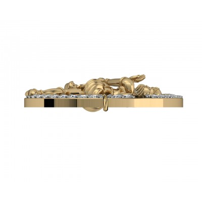 Natraj Bracelet in Gold