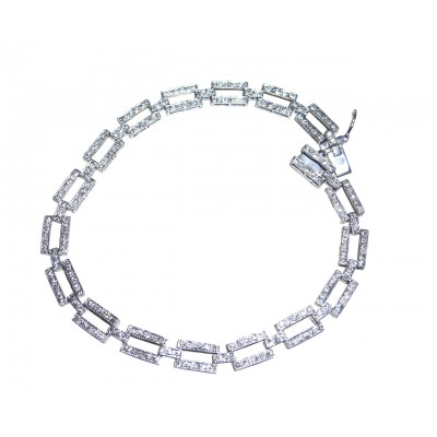 Emma Diamond Tennis Bracelet