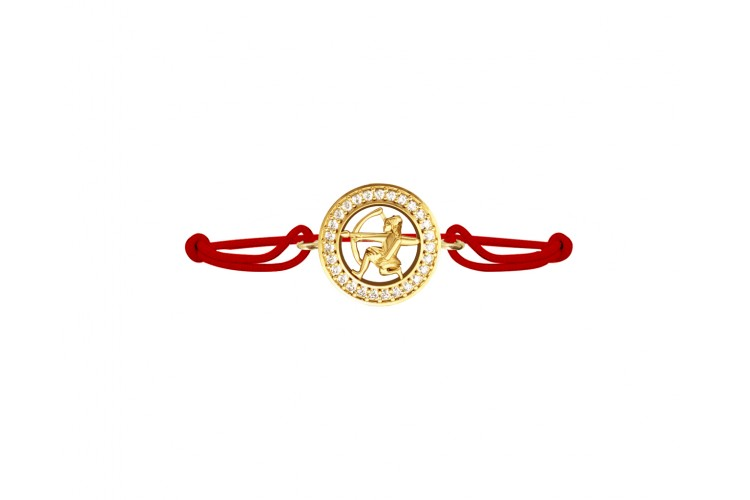 Saggitarius bracelet in Gold