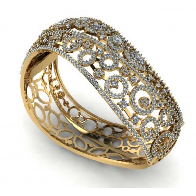 Designer Diamond Bangle