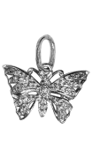Free Spirit Butterfly Charm