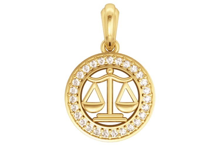 Buy Libra Charm In Gold Online In India At Best Price