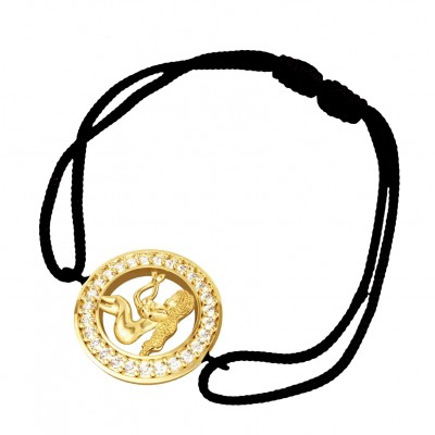 Virgo bracelet in Gold