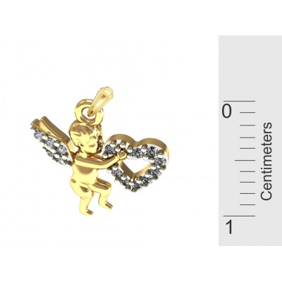 Angel of Love charm