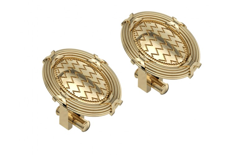 Edward Gold Cufflinks