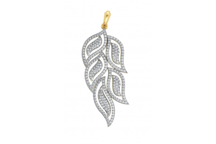 diamond pendant set jewellery by designer art djewels on