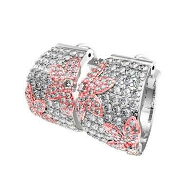 Diamond Balis with floral design