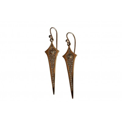 Diamond Earring in Gold