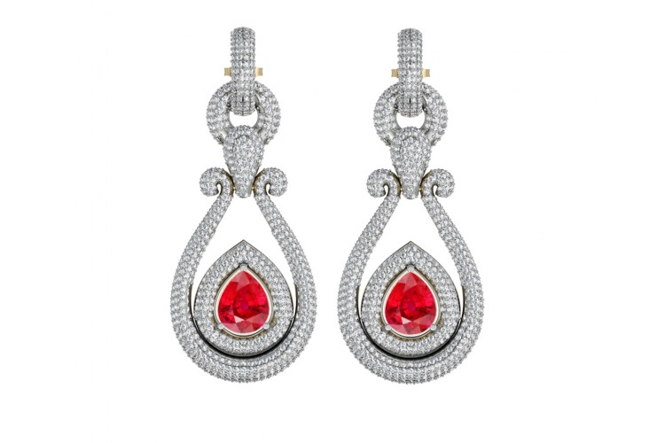 Elena Diamond Danglers