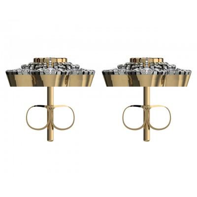 Buy Priya Dainty Diamond Earrings line in India at Best Price Jewelslane