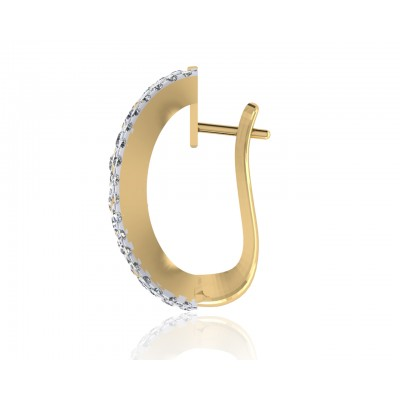 Elina Diamond Hoops