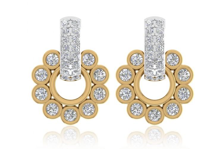 buy aarchi diamond earrings online in india at best price jewelslane