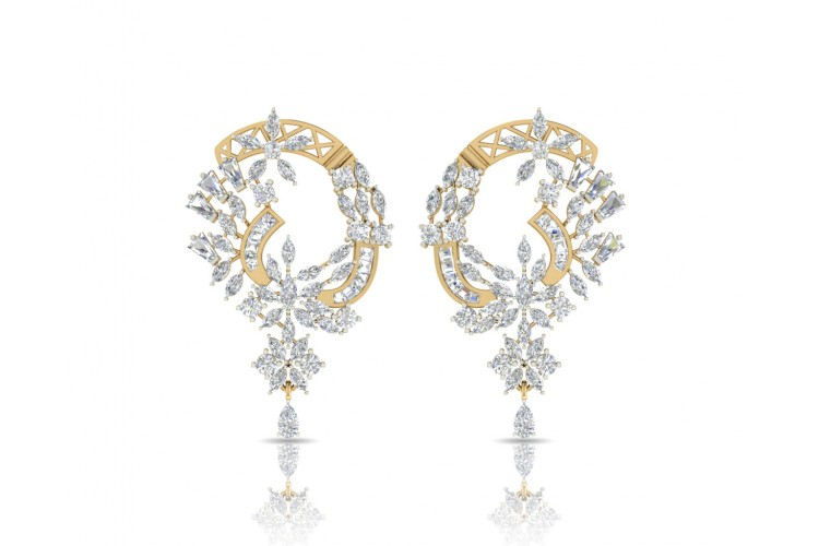 Ariel Elegant Diamond Earrings