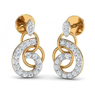 Chakrika Diamond Eartops
