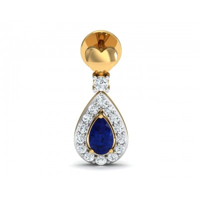 Anchita Sapphire Diamond Earrings