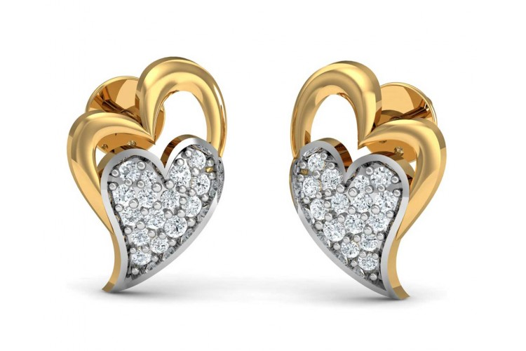 Carys Heart Earrings