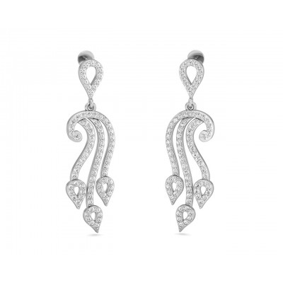 Diya Diamond Drop Earrings