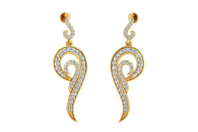 Mohani Diamond Danglers