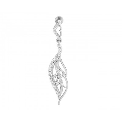 Narmin Long Diamond Earrings