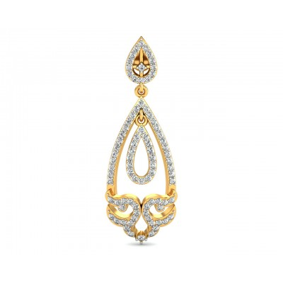 Ekvira Long Diamond Danglers