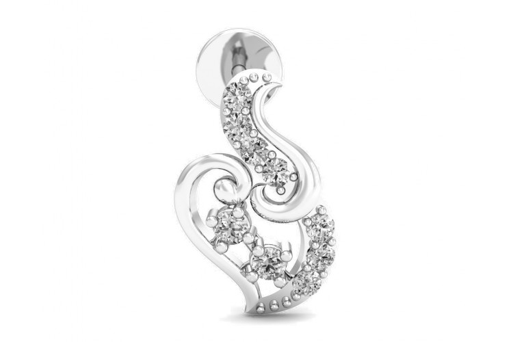 Gini Brilliant Cut Diamond Earrings