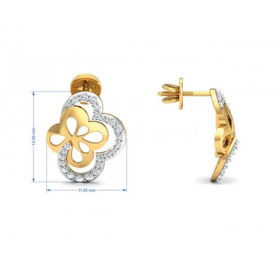 Resa Diamond Earrings