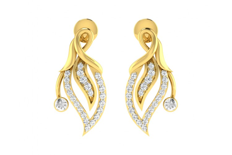 Berti Diamond Earrings