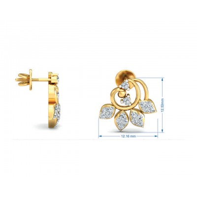 Geet Diamond Eartops