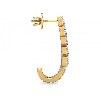 Fara Diamond Hoop Earrings
