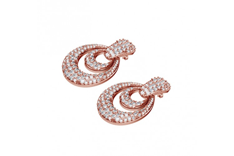 Ostentatious Diamond Earrings