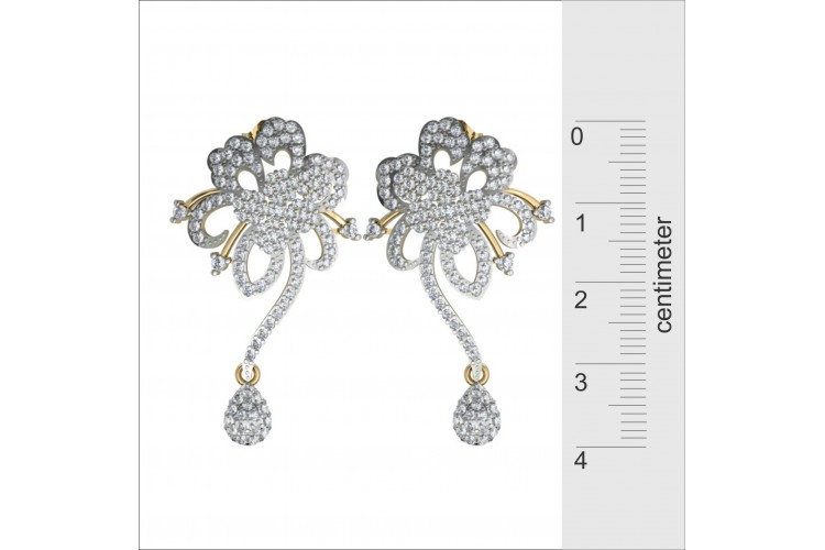 Dressy Diamond Earrings