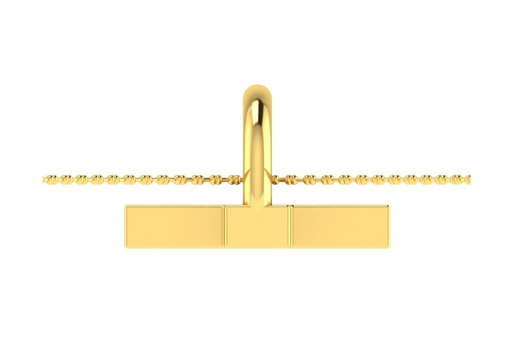 Diamond Cross pendant in gold