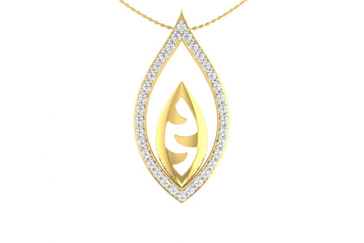 Shivas third eye pendant in gold with diamonds mozeypictures Image collections