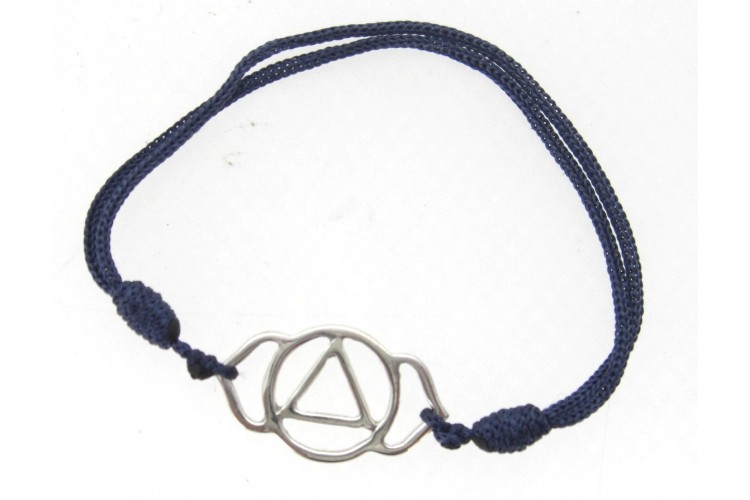 Third Eye Chakra Bracelet in Silver