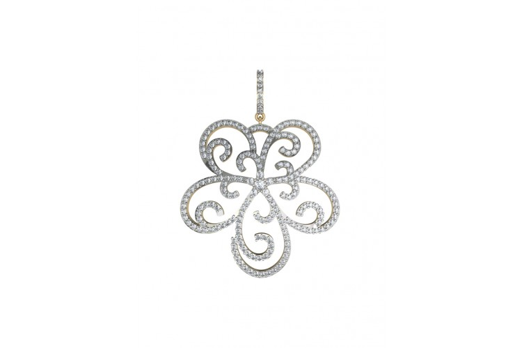 Buy ethereal design diamond pendant online in india at best price ethereal design diamond pendant audiocablefo