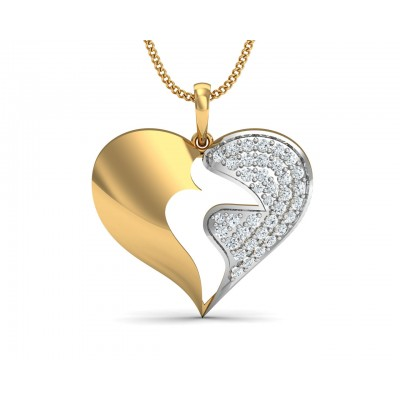 Pana  Diamond Heart  Pendant