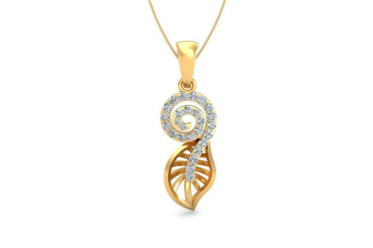 designer circle pendant diamond gold p ladies