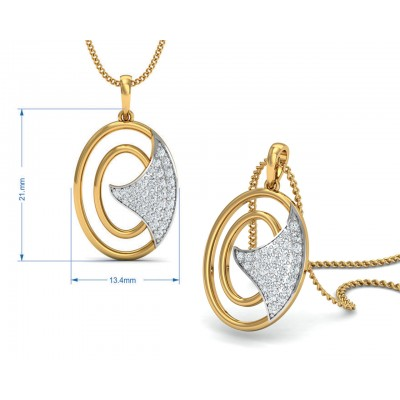 Aarya Diamond Pendant