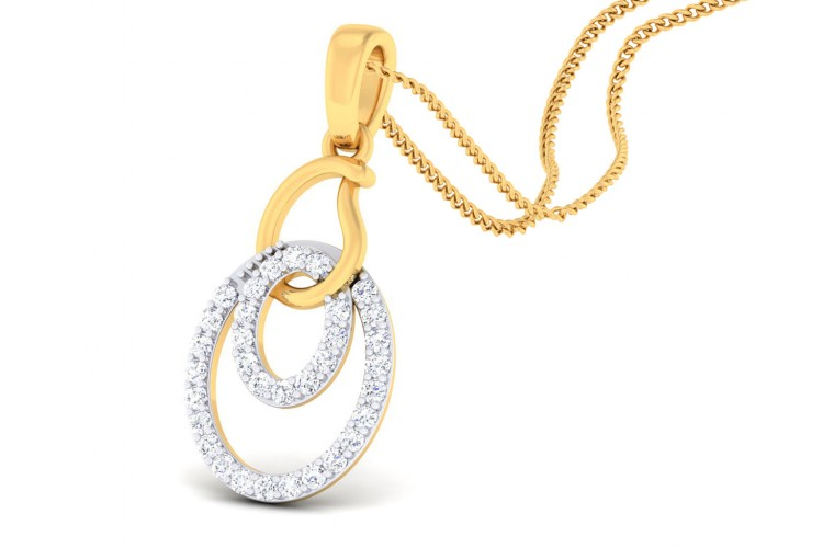 Gabi Diamond Pendant