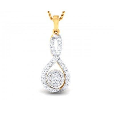 Cai Diamond Daily wear pendant in Gold