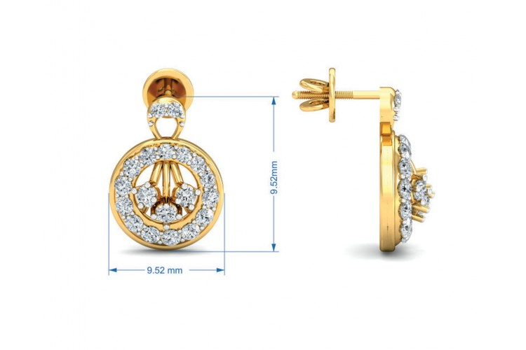 Dea Brilliant Cut Diamond Earring Pendant Set